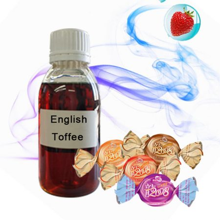 125ml/ 1Liter High Concentrated English Toffee Flavor E-Juice