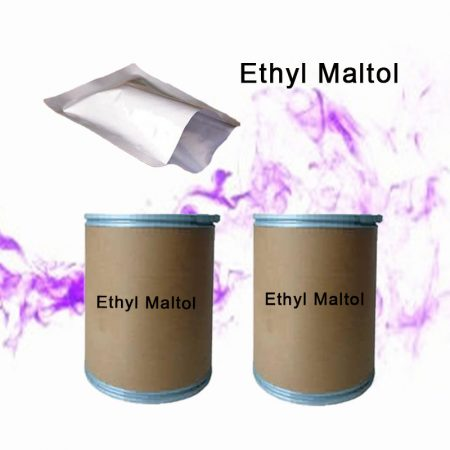 Wholesale 25kg Sweeteners Ethyl maltol Used For E-Liquid/ E-Cig/ Vape