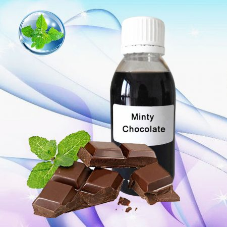 Wholesale High Concentrated 125ml/1L Minty Chocolate Flavor