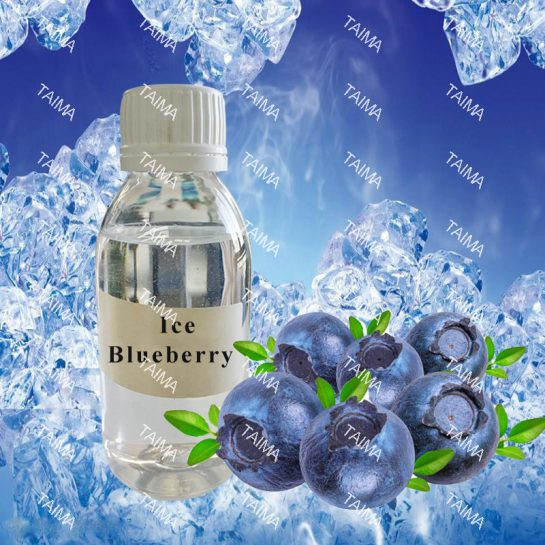 ice buleberry and nicotine liquid