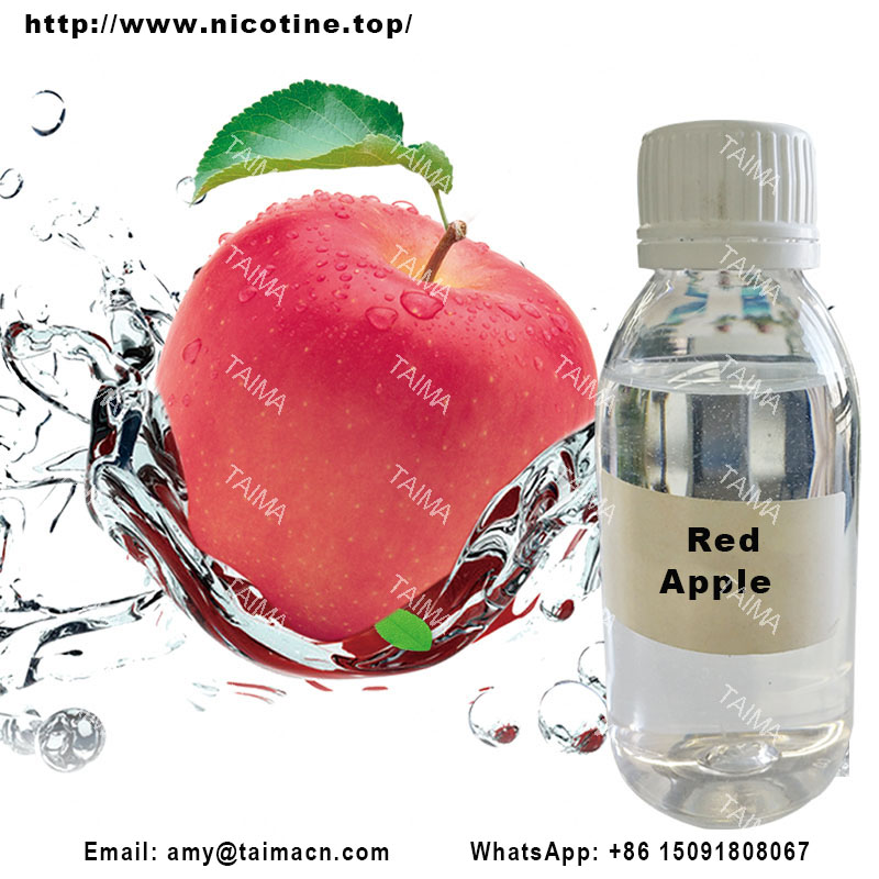 Red Apple Concentrated Fruit Flavour