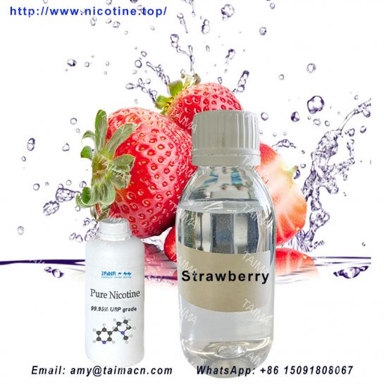 DIY E-Liquid Concentrated Strawberry Flavor/Essence Mix Nicotine Liquid