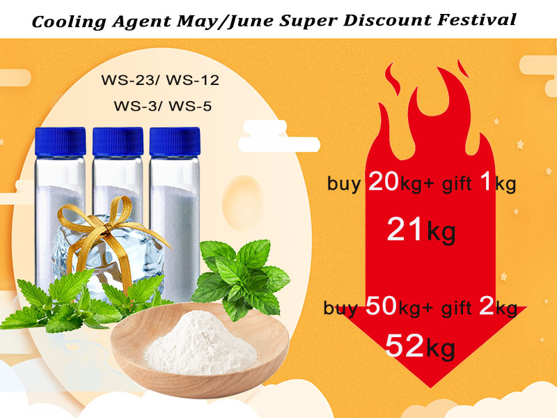 Food Additive Cooling Agent Powder Or Liquid ws-23 Vape Liquid