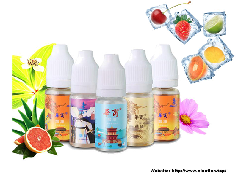 Refreshing Summer Juice Ice Flavor Used Vape Juice/ E-Liquid