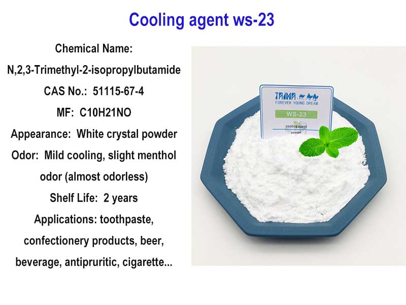 Natural cooling agent powder ws-23
